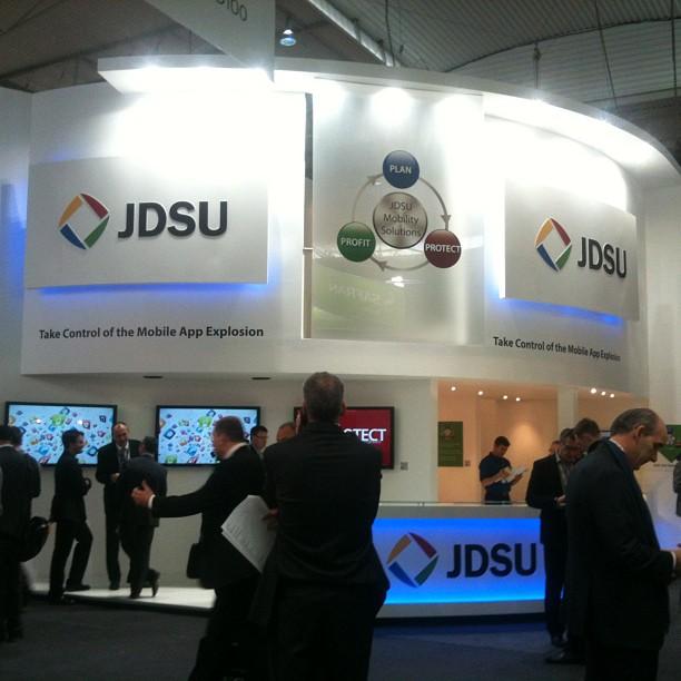 <span>Interiorismo</span>Stand JDSU para MWC