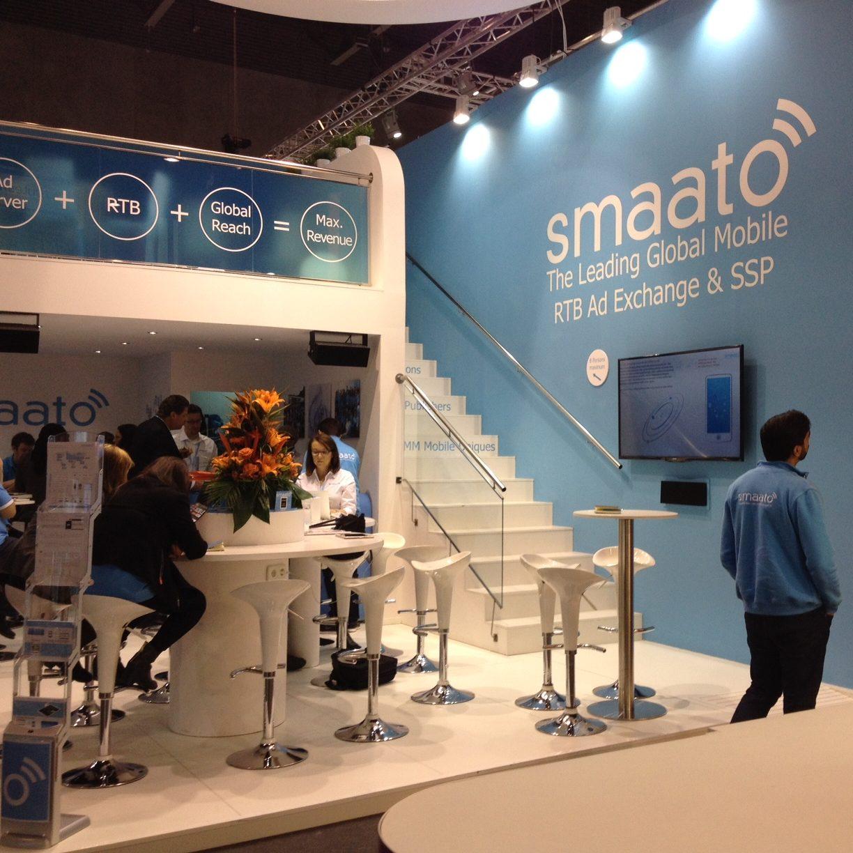 <span>Interiorisme</span>Stand SMAATO per MWC