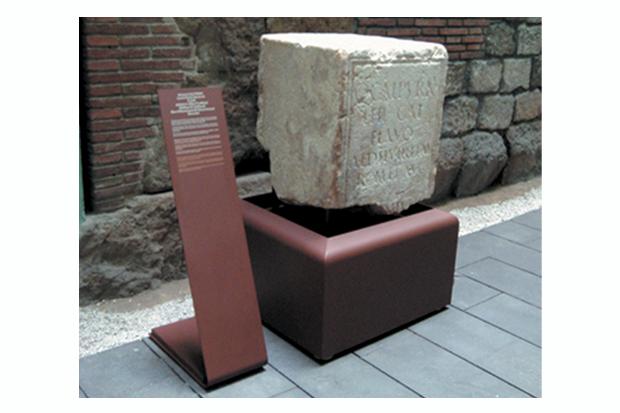 <span>Interiorismo</span>Peana MUHBA