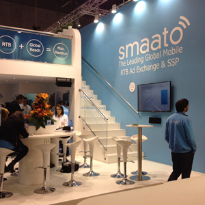 <span>Interior design</span>SMAATO booth for MWC 15