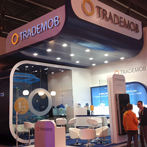 <span>Interior design</span>Trademob booth for MWC 15